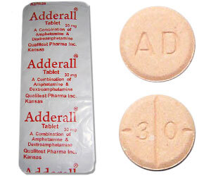 adderall comprimes